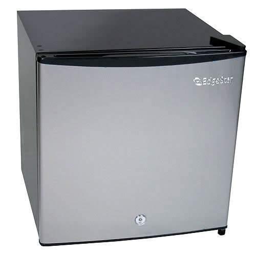 EdgeStar 1.1 Cu. Ft. Convertible Refrigerator or Freezer w/Lock