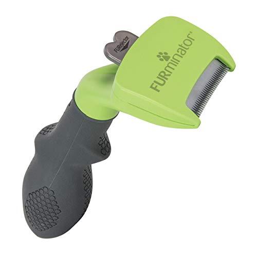 FURminator deShedding-Tool Hund Größe S Langhaar - Hundebürste für kleine Hunde zur Entfernung der Unterwolle - Verbessertes Design