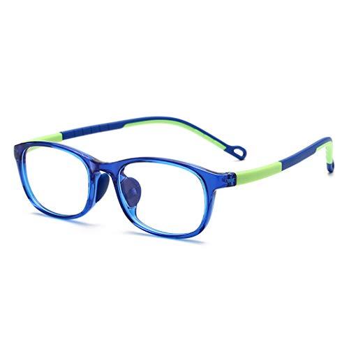 HQPCAHL Blaulichtfilter Brille Kinder Anti Blaulicht Brille Kids Anti-Augen-Belastung Gläser Für Computer, Telefone, TV, Video Gaming Geeignet Für 3-12 Jahre,D