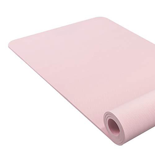 SKK Estera de Yoga Yoga Mat Eco Friendly TPE 1/3 Pulgadas Colchoneta de Ejercicio de Alta Densidad de Relleno Que se Deben Evitar Dolor en Las Rodillas Durante Pilates Pilates Yoga Mat (Color : 9)