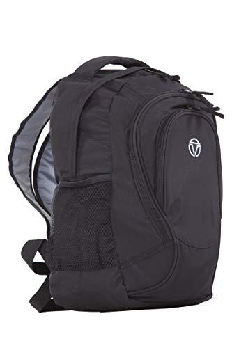 Travelite Handgepäck Rucksack für Reise, Freizeit und Sport, Gepäck Serie BASICS Daypack: Funktionaler Rucksack, 096286-01, 42 cm, 29 Liter, schwarz, 35x42x22 cm