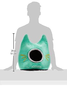 Vitakraft Dôme tout doux en forme de tête de chat - Panier confort dimension 50x43cm