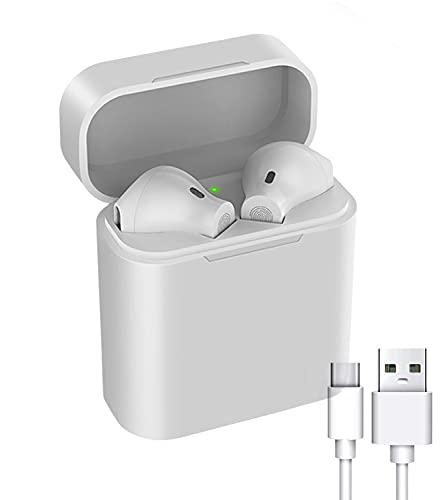 Auriculares Bluetooth,Auriculares Inalámbricos Bluetooth,Auriculares Internos,Control Táctil,Impermeables,Adecuados para Dispositivo con Bluetooth