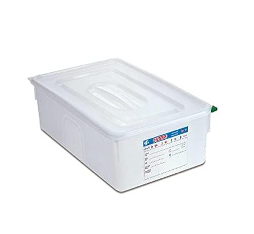 Araven Gastronorm 1/1 - Fiambrera profesional (28 L, 530 x 325 x 200 mm)
