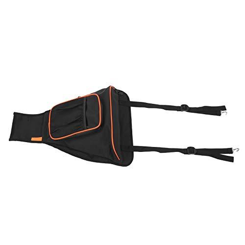 Bolsa de almacenamiento UTV, bolsa de almacenamiento de consola central con cremallera impermeable UTV bolsillo apto para RANGER RZR