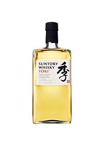 Suntory Whisky Toki Japanischer Blended Whisky mit feinem, süßen und würzigem Abgang, 43{61d61d261d8ceb6b9efca8d74887db7aa2fa145ef2bf49b7a40e645bb29b3db8} Vol, 1 x 0,7l