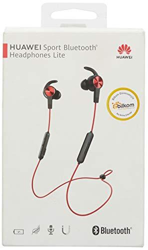 Huawei AM61 - Auriculares (Bluetooth, microfono y Boton de Control) Color Rojo