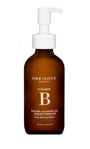 One Love Beauty vitamin b enzyme CLEANSING OIL + MAKEUP REMOVER 4 oz