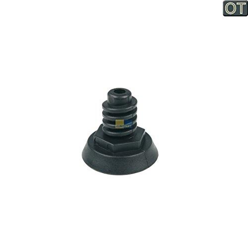ORIGINAL Candy Hoover 41001349 Gerätefuß Fuß verstellbar schwarz Spülmaschine Geschirrspüler Trockner CD11201 CD11285S CD700ES CDF31280 CDF315A39S CDF322AX37S