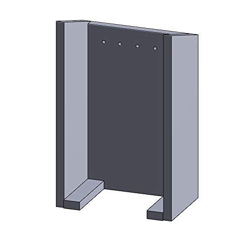 Kaminofen Vermiculiteplatten passend für Jydepejsen DK Flame Turbo - Set 5-teilig Feuerraumauskleidung