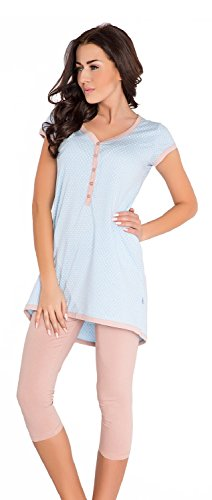 DN, Pyjama, PM 5037, Light Blue, Gr. S