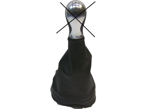 Para CTROENXSARA Modelos 1997 a 2004 Funda para Palanca de Cambio 100% Piel Color Negro