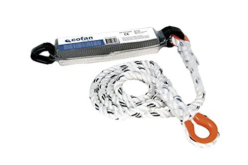 Absorbedor de energía I Con cuerda de seguridad de 1,5 m