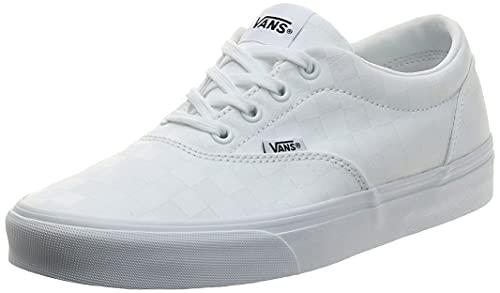 Vans Damen Doheny Sneaker, Weiß ((Checkerboard) White/White W51), 39 EU