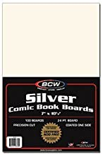 100 Silver Age Size Comic Book Backing Boards Pack