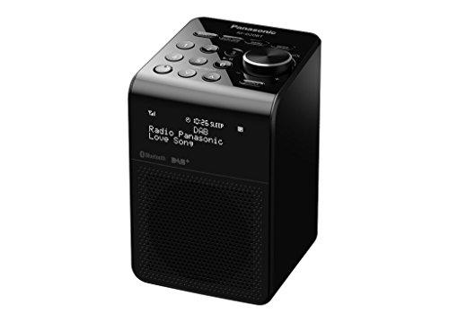 Panasonic RF-D20BTEG-K DAB+ Digitalradio schwarz