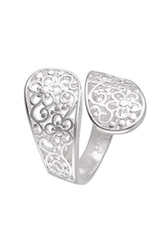 Córdoba Jewels | Anillos en Plata de Ley 925 con diseño Doble Filigrana Silver