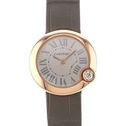カルティエ Cartier バロン ブラン ドゥ WGBL0005 シルバー文字盤 腕時計 レディース (W186713) [並行輸入品]