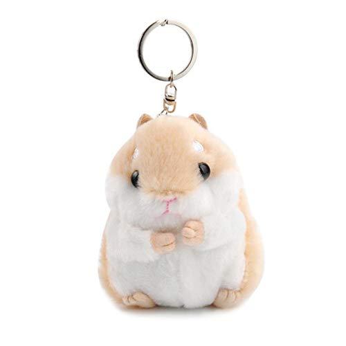 Seraphis Hamster Schlüsselanhänger Plüsch Anhänger Handtasche Charm Schlüsselanhänger