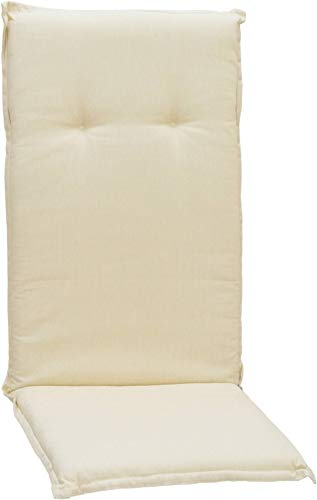 Beo Kissen Polster für Hochlehner in hell-beige für Gartenmöbel