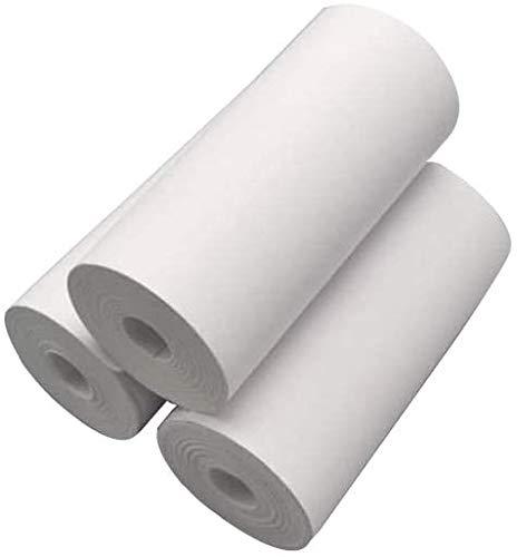Instant Kids Camera Refill Print Paper, Prymax Zero Ink 3 Rolls Thermal Paper, Print Paper (White)