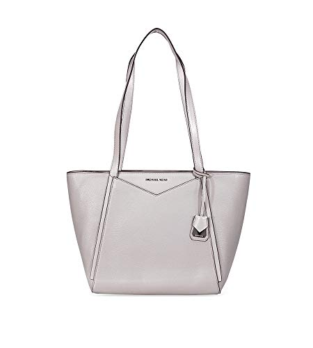 MICHAEL Michael Kors M Tote Small Top Zip Pearl Grey One Size