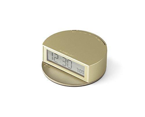LEXON レクソン 置き時計 FINE CLOCK 目覚まし アラームクロック 置時計 (ソフトゴールド)