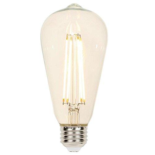 Westinghouse 3518200 - Bombilla LED de filamento regulable con base media (4,5 W, equivalente a 40 W)