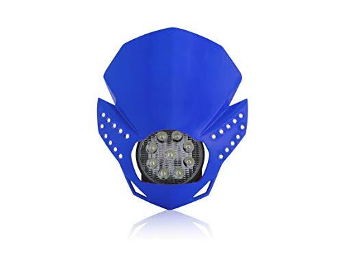 Façade LED foudre Bleu