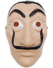 Hot sale Anime Masks La casa de papel Card House Dali Mask Halloween Party Cosplay Show Props unique mask