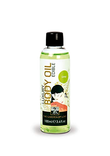 SHIATSU Edible Luxury Body Oil - Lime, 100 ml