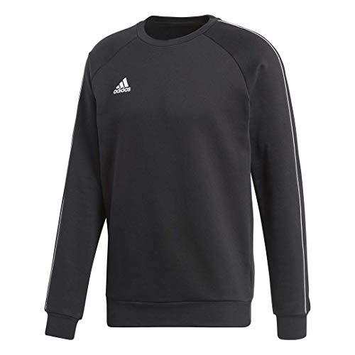adidas Core18 Sweat Top, Sweatshirts Uomo, Black/White, XL