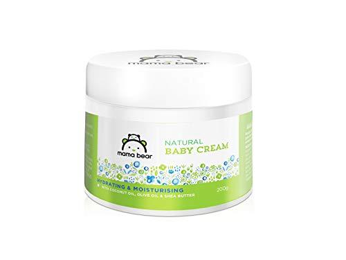 Amazon Brand - Mama Bear Natural Baby Cream - 200 gm