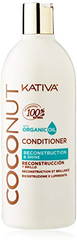 KATIVA Nut Conditioner, Blanco, Coco, 500 Mililitros