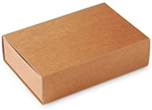 Caja Tipo de cerillas, Packaging de Regalo. Color Kraft. Pack de 50 Unidades - M