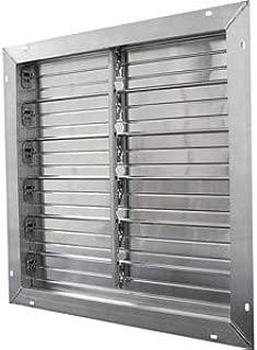 Aluminum Exhaust Shutters - 24 x 24