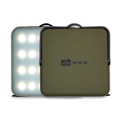 WAQ LEDランタン 暖色 電球色 昼光色 USB充電式 モバイルバッテリー 10000mah 12調光モード アウトドア 防...