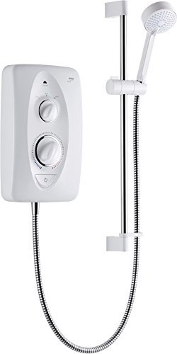 Mira Jump 9.5kw Thermostatic Electric Shower White/Chrome Multi-Fit by Mira Showers