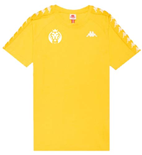 Kappa X MAD Lions Coen Slim 222 Banda tee Camisetas, Hombre, Amarillo,...