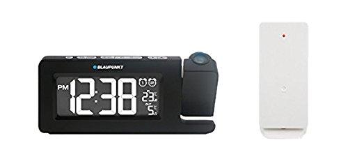Blaupunkt CRP10BK Uhrenradio mit Display, Thermometer, Projektor schwarz