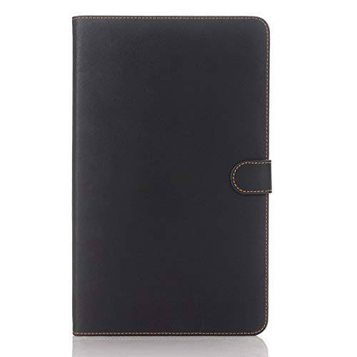 WeYiMa HNZZ,For Galaxy Tab A 10.1 / T580 Archaize Texture Magnetic Horizontal Flip Leather Case With Holder (Color : Black)