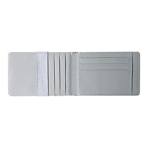 YYXDP New Portafoglio Dollar Clip Portafoglio In Pelle Da Uomo Corto Porta Carte Pu Portafogli Piccolo Elastico Portafoglio
