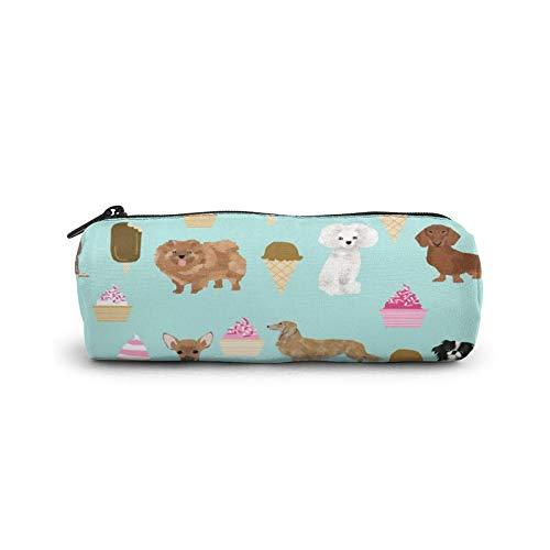 Bolsa de lona para lápices de hielo, ideal para perros, ideal para la escuela, adolescentes, niñas y adultos