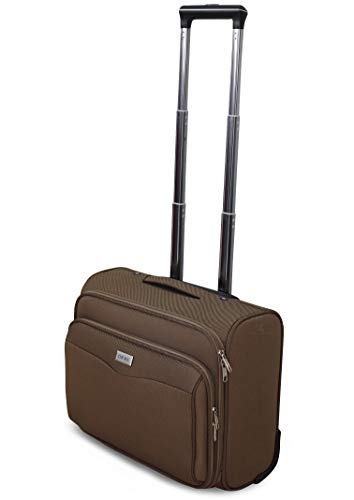 VALIGIA TROLLEY BAGAGLIO A MANO Pilota Business RYANAIR EASY JET LOW COST (BRONZO)