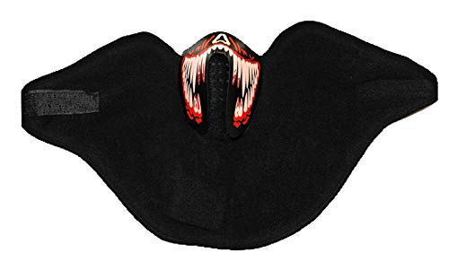 Kandy Kraze LED Sound Active Face Masks for Raves, Costumes, Protection, Events, and More. … (Poison Mask)