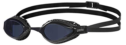 ARENA Unisex Wettkampfbrille Airspeed Schwimmen Unisex Erwachsene, Schwarz, Einheitsgröße (Größe Hersteller: TU)