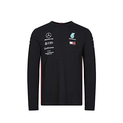 MERCEDES AMG PETRONAS Motorsport 2019 F1™ Mens Long Sleeve Driver T-Shirt XL