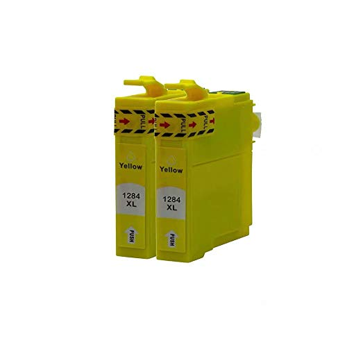 ZYL - Cartuchos de tinta Compatibles para Epson 16XL Workforce WF-2510WF WF-2520NF WF-2530WF WF-2540WF WF-2630WF WF-2650DWF WF-2660DWF WF-2750DWF WF-2760DWF Color Amarillo