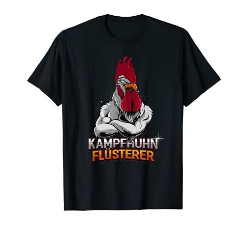 Pollo de combate silencioso. Camiseta