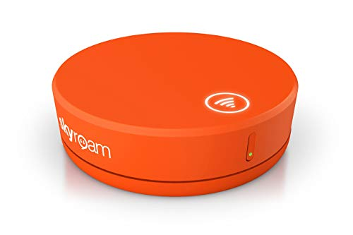 Skyroam Solis: Mobile WiFi Hotspot & Power Bank // Unlimited Data // Global SIM-Free 4G LTE // Pay-as-You-go // Coverage in North America, South America, Europe, Asia, Africa, Australia (Renewed)